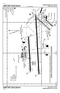 MELBOURNE INTL - Airport Diagram
