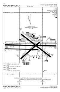 QUAD CITY INTL - Airport Diagram