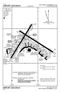 klga laguardia iflightplanner : lga airport diagram - findchart.co