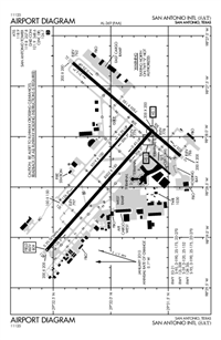 SAN ANTONIO INTL - Airport Diagram