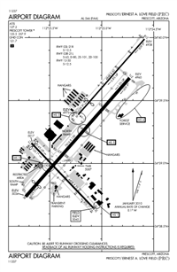 ERNEST A. LOVE FIELD - Airport Diagram