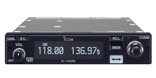 Highlighting the Icom IC-A220 Air Band Panel Mount